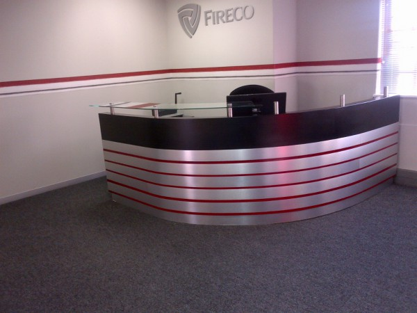 Fireco Reception Area